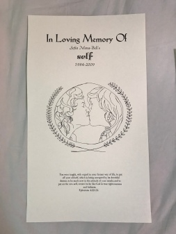 In Loving Memory of Self