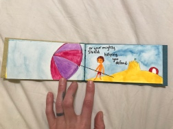 Sometimes an Umbrella on a Beach
