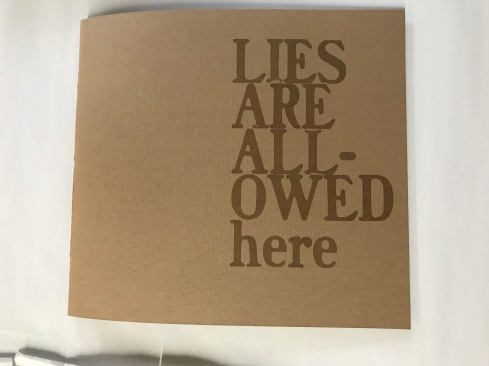Lies Are Allowed Here - front cover