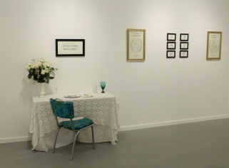 third wall and table setting